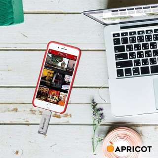 Apricot external memory 16gb 32gb and 64gb Order now! For iphone itouch and Mac PC