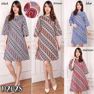 Abba Batik Dress