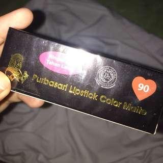 Purbasari Lipstick Color Matte shade 90