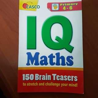 P3-P6 Math Casco 150 IQ math brain teasers.