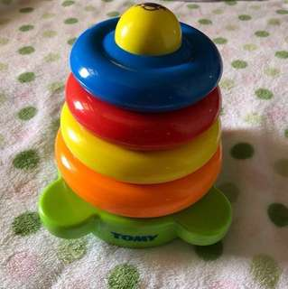 Tomy stacking toy