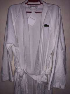 Original Lacoste bath robe