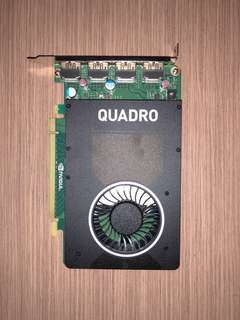 nVidia M2000 Graphic card