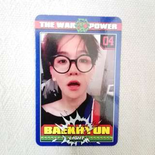 WTT/WTS exo baekhyun power official photocard / pc