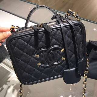 Chanel Vanity Case Bag (100%real and new)