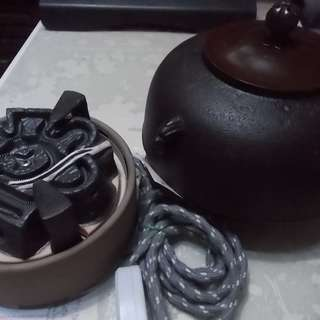 Japanese Cast Iron Tea Pot Tetsubin