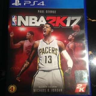 BD PS4 NBA 2K17