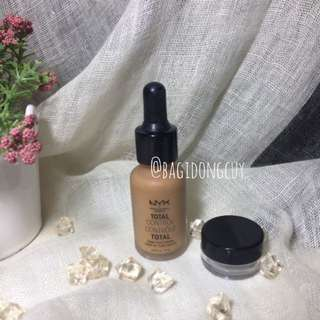 NYX Total Control Foundation share in jar travel size 5 mL