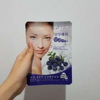 BEAUTYHOST BLUEBERRY SHEET MASK KOREA