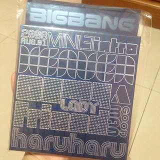 """Big bang """"haru haru"""" album"""