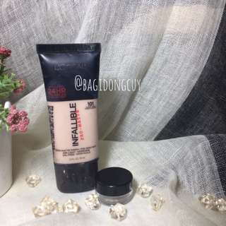 L'oreal Infallible pro matte fini 101 share in jar 5 mL travel size