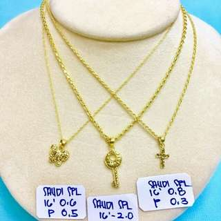 Saudi Gold necklace