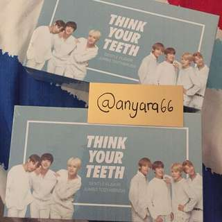 (READYSTOCK) VT x BTS Toothbrush Kit