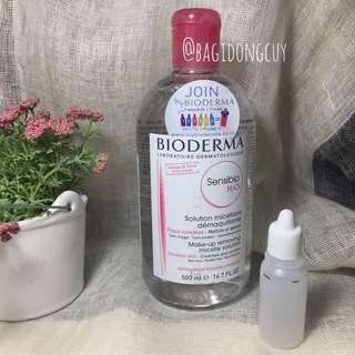Bioderma Micellar Water share in bottle travel size 15 mL