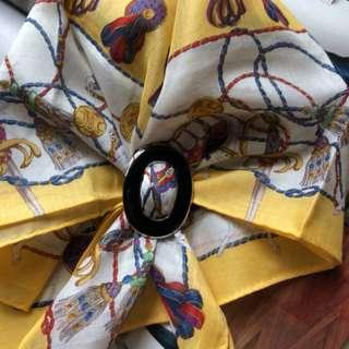Celine 女性大方巾/手帕/領巾