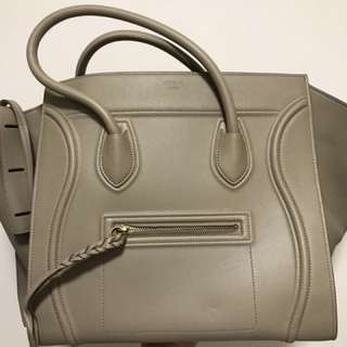 Celine luggage beige