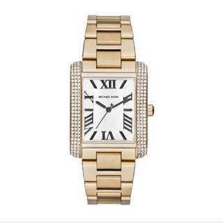 Micheal Kors Emery Gold Watch RM700