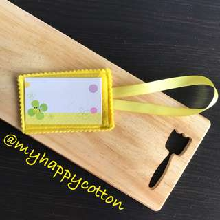 Felt Luggage Tag