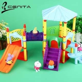 Peppa pig playground set kids toys