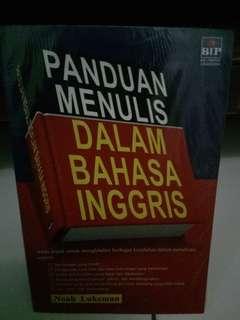 Buku Panduan Menulis dalam Bahasa Inggris