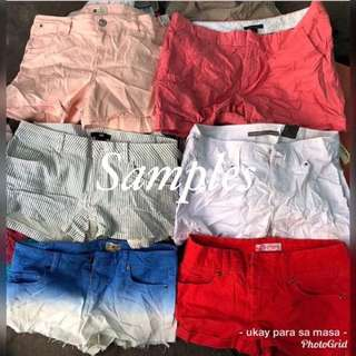 Ladies Sexy short premium