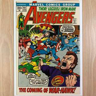 MARVEL COMICS The Avengers #98-Goliath resumes Hawkeye identity (Serious Buyers Only)