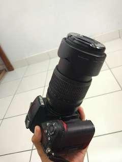 Nikon D7000 + Lensa 18-105mm