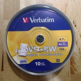 全新Verbatim DVD 一盒