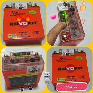 1203**---KOYOKO MOTORBIKE BATTERY*** YAMAHA SPARK, FZ16 Ver 1.0.. etc......