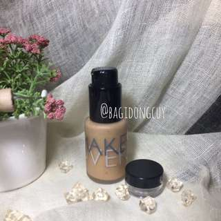 Make Over Foundation shade 05 share in jar travel size 5 mL