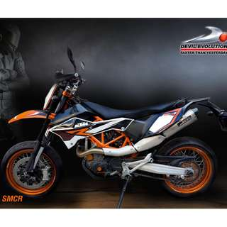 Devil Exhaust Systems Singapore KTM 690 SMCR 2009 - 2016 Ready Stock ! Promo ! Do Not PM ! Kindly Call Us !