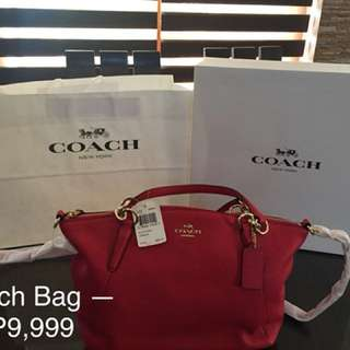 Authentic and Original Coach Bag