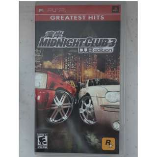 RARE UMD Sony Playstation Portable PSP MIDNIGHT CLUB SILENT HILL INFECTED