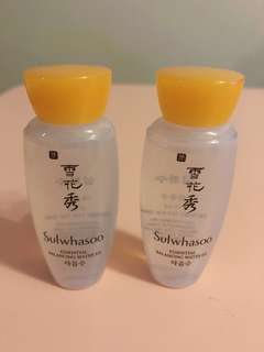 Sulwhasoo Essential Balancing Water EX 15ml x 2