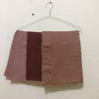 Kerudung Square seri Coklat Take All