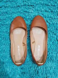 Cotton On Tan Ballet Flats