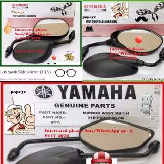 1203** YAMAHA Genuine Parts **Side Mirror** Spark, FZ16, Jupiter MX, SNIPER 150, Etc....