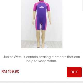 Neowave wet suit