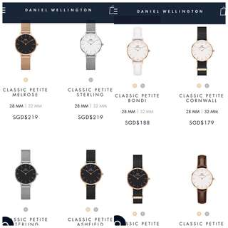 Daniel Wellington Watch 100% AUTHENTIC