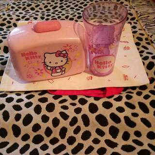 Gelas + Box Sanrio