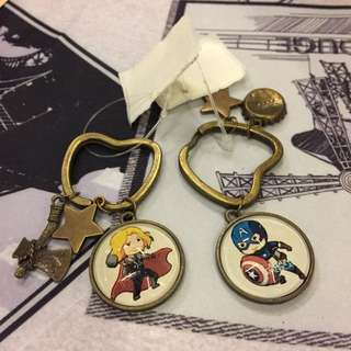 Handmade Vintage Keychain (Avengers)