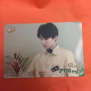 Roy TFBoys Yes! Card
