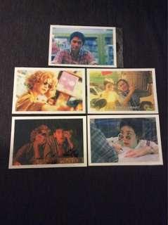 BN Chungking Express post cards postcards X 5pcs Wong Kar Wai