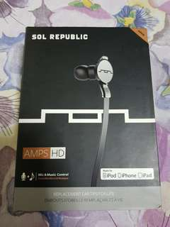 Sol Republic Amps HD Earphones