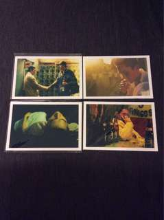 BN Happy Together post cards postcards Wong Kar Wai X 4pcs