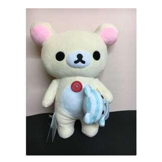 正版 懶懶熊 小白熊 睡覺款