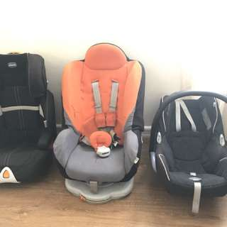 Car seat for 3 stages (new born, toddler, booster)