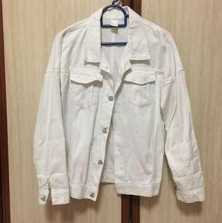 White Denim Outerwear