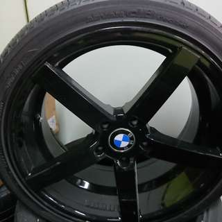 19 inch BMW rims (Staggered)
