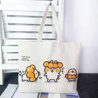 卡娜赫拉的小動物 Kanahei 棉布購物袋 帆布包包 環保購物袋